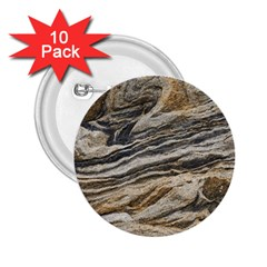 Rock Texture Background Stone 2 25  Buttons (10 Pack)