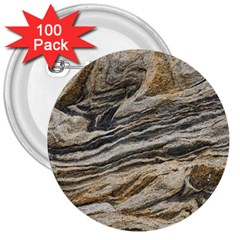 Rock Texture Background Stone 3  Buttons (100 Pack)