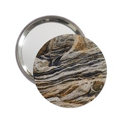 Rock Texture Background Stone 2 25  Handbag Mirrors