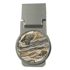 Rock Texture Background Stone Money Clips (Round)