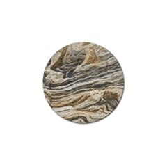 Rock Texture Background Stone Golf Ball Marker (10 Pack)