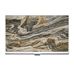 Rock Texture Background Stone Business Card Holders