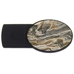 Rock Texture Background Stone Usb Flash Drive Oval (2 Gb)