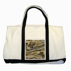 Rock Texture Background Stone Two Tone Tote Bag