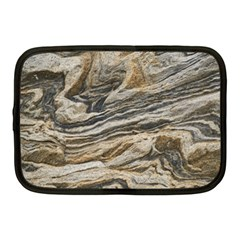 Rock Texture Background Stone Netbook Case (medium)