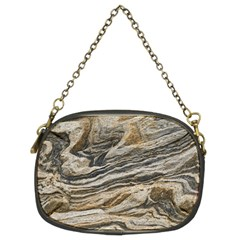 Rock Texture Background Stone Chain Purses (two Sides)