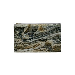 Rock Texture Background Stone Cosmetic Bag (small)