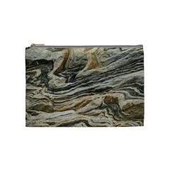 Rock Texture Background Stone Cosmetic Bag (medium)