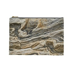 Rock Texture Background Stone Cosmetic Bag (large)