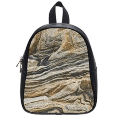 Rock Texture Background Stone School Bags (small)