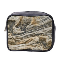 Rock Texture Background Stone Mini Toiletries Bag 2 Side