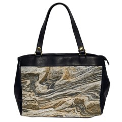Rock Texture Background Stone Office Handbags (2 Sides)