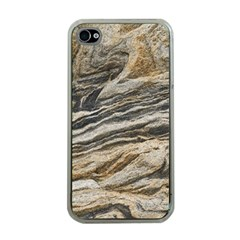 Rock Texture Background Stone Apple Iphone 4 Case (clear)