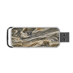Rock Texture Background Stone Portable Usb Flash (two Sides)