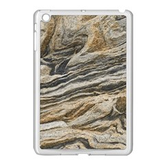 Rock Texture Background Stone Apple Ipad Mini Case (white)