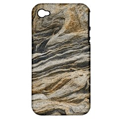 Rock Texture Background Stone Apple iPhone 4/4S Hardshell Case (PC+Silicone)