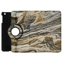 Rock Texture Background Stone Apple Ipad Mini Flip 360 Case