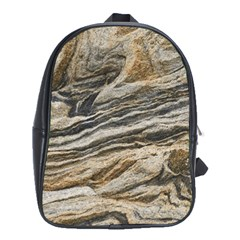 Rock Texture Background Stone School Bags (xl)