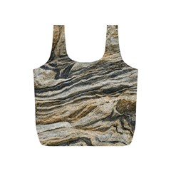 Rock Texture Background Stone Full Print Recycle Bags (s)