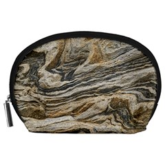 Rock Texture Background Stone Accessory Pouches (large)