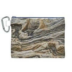 Rock Texture Background Stone Canvas Cosmetic Bag (xl)