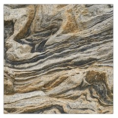 Rock Texture Background Stone Large Satin Scarf (square)