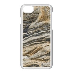 Rock Texture Background Stone Apple Iphone 7 Seamless Case (white)