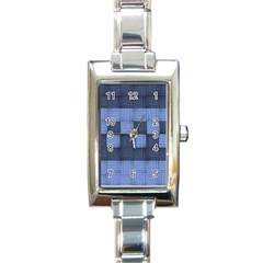 Texture Structure Surface Basket Rectangle Italian Charm Watch