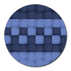 Texture Structure Surface Basket Round Mousepads