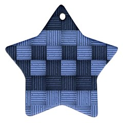 Texture Structure Surface Basket Ornament (star)