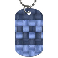 Texture Structure Surface Basket Dog Tag (one Side)