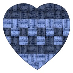 Texture Structure Surface Basket Jigsaw Puzzle (heart)