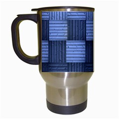 Texture Structure Surface Basket Travel Mugs (white)