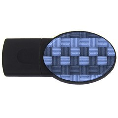 Texture Structure Surface Basket Usb Flash Drive Oval (4 Gb)