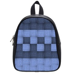 Texture Structure Surface Basket School Bags (small)