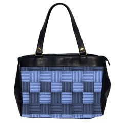 Texture Structure Surface Basket Office Handbags (2 Sides)