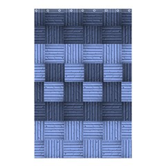 Texture Structure Surface Basket Shower Curtain 48  X 72  (small)