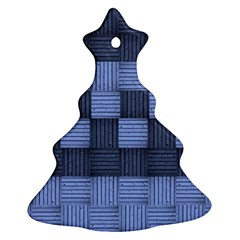 Texture Structure Surface Basket Ornament (christmas Tree)