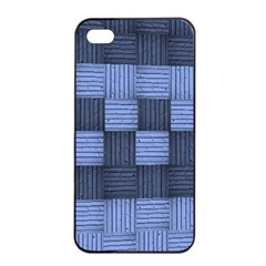 Texture Structure Surface Basket Apple Iphone 4/4s Seamless Case (black)