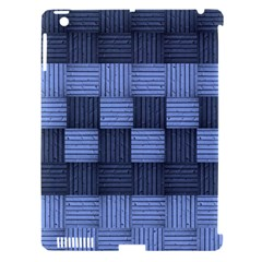 Texture Structure Surface Basket Apple Ipad 3/4 Hardshell Case (compatible With Smart Cover)