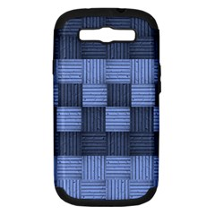 Texture Structure Surface Basket Samsung Galaxy S Iii Hardshell Case (pc+silicone)