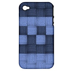 Texture Structure Surface Basket Apple Iphone 4/4s Hardshell Case (pc+silicone)