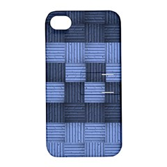 Texture Structure Surface Basket Apple Iphone 4/4s Hardshell Case With Stand