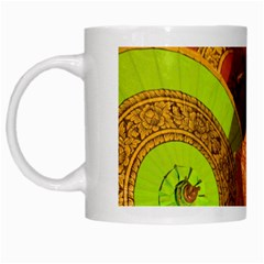 Umbrellas Parasols Design Rain White Mugs