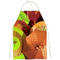 Umbrellas Parasols Design Rain Full Print Aprons