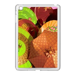 Umbrellas Parasols Design Rain Apple Ipad Mini Case (white)