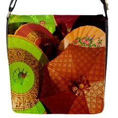 Umbrellas Parasols Design Rain Flap Messenger Bag (s)