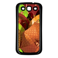 Umbrellas Parasols Design Rain Samsung Galaxy S3 Back Case (black)