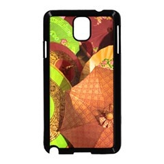 Umbrellas Parasols Design Rain Samsung Galaxy Note 3 Neo Hardshell Case (black)