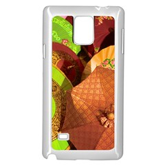 Umbrellas Parasols Design Rain Samsung Galaxy Note 4 Case (white)